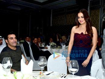Dia Mirza and Arbaaz Khan at Real Estate Tyoon Awards