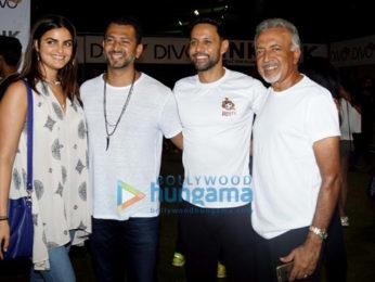 Dino Morea, Mandana Karimi and Shibani Dandekar grace the Roots premiere league match