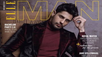 Sidharth Malhotra On The Cover Of ELLE Man, Nov 2017