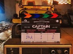 Emraan Hashmi kicks off the shoot of his production Captain Nawab