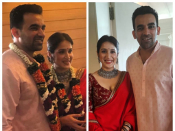 FIRST PHOTOS  Sagarika Ghatge and Zaheer Khan get hitched!