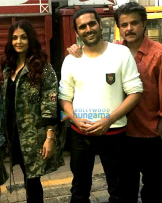 On The Sets Of The Movie Fanney Khan