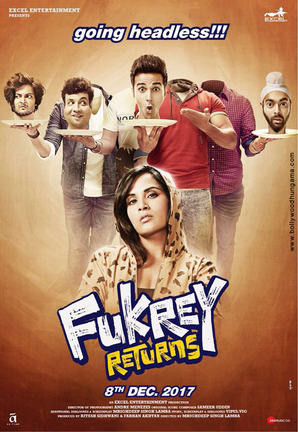 FUKREY RETURNS (2017) con PULKIT SHARMA + Jukebox + Sub. Español + Online  Fukrey-Returns-13