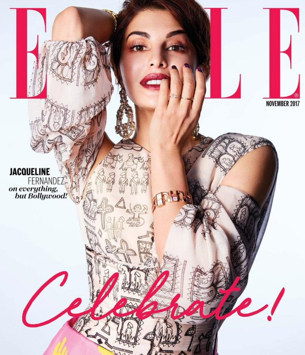 HOTNESS Jacqueline Fernandez is an absolute stunner on Elle magazine's wedding special!3