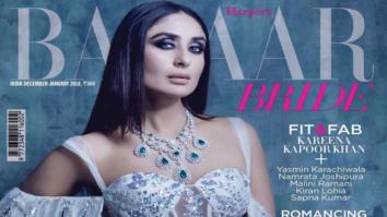 Kareena Kapoor Khan On The Cover Of Harper's Bazaar, Jan 2018