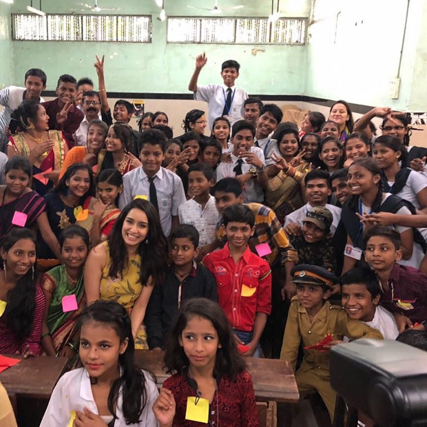 Here's how Shraddha Kapoor celebrated Children's Day in Mumbai (1)