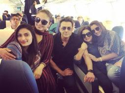 Huma Qureshi parties with girl gang Farah Khan and Sania Mirza, Sohail Khan and Bobby Deol party after Naaz awards (3)