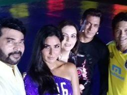 ISL 2017 Salman Khan clicks a selfie with Sachin Tendulkar, Katrina Kaif, Mammootty and Nita Ambani1
