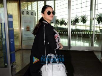 Ileana D'Cruz, Aditi Rao Hydari and others snapped at the airport