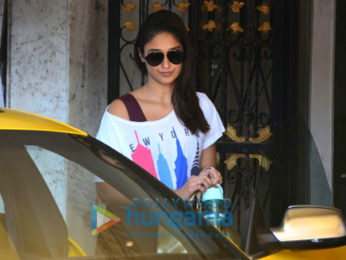Ileana D'Cruz snapped after her gym session