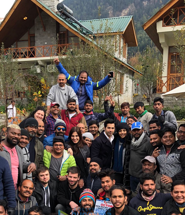 It's a wrap for Varun Dhawan starrer October in