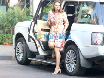 John Abraham and Iulia Vantur spotted at Bandra