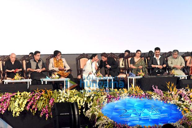 K3G Reunion Amitabh Bachchan, Shah Rukh Khan, Kajol potted at Kolkata International Film Festival 2017
