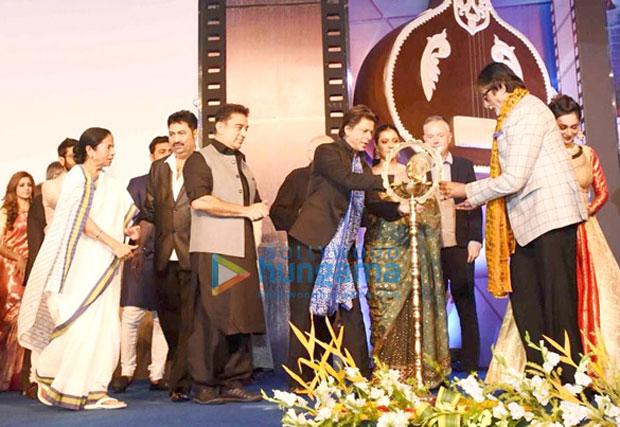 K3G Reunion Amitabh Bachchan, Shah Rukh Khan, Kajol spotted at Kolkata International Film Festival 2017