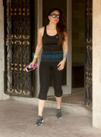 Kareena Kapoor Khan spotted outside her gym