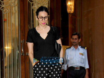 Karisma Kapoor spotted at Jet Gems jewellery store in Bandra