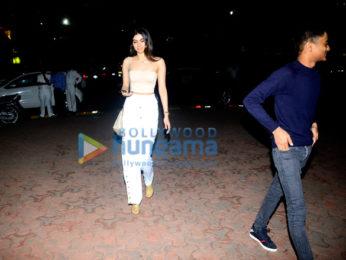 Khushi Kapoor snapped at BKC