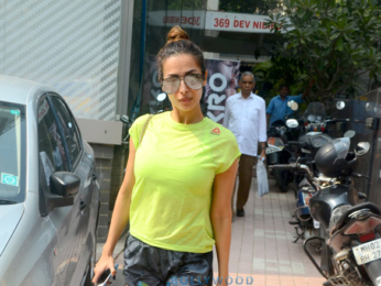 Malaika Arora snapped post her gym session in Khar