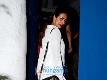 Malaika Arora spotted at Olive in Bandra