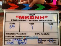 On The Sets Of The Movie Mard Ko Dard Nahi Hota