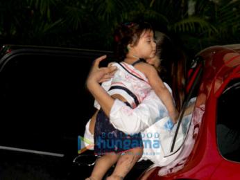 Mira Rajput and Misha Kapoor snapped in Mumbai