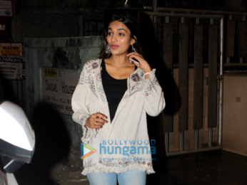 Nidhhi Agerwal spotted in Bandra