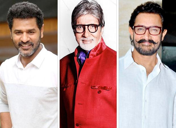 Prabhu Dheva makes Amitabh Bachchan & Aamir Khan dance for Thugs Of Hindostan
