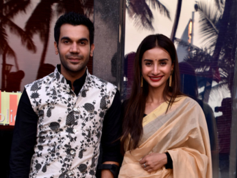 Rajkummar Rao and Patralekha snapped at an event for the ALT Balaji web-series 'Bose: Dead/Alive'