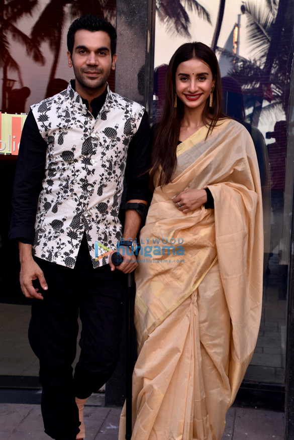 Rajkummar Rao and Patralekha snapped at an event for the ALT Balaji web-series 'Bose: Dead/Alive'