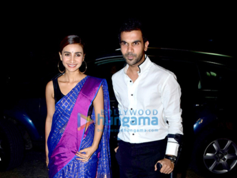 Rajkummar Rao hosts a special screening of 'Bose DeadAlive'