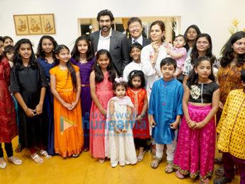 Rana Daggubati attends an event on Children's Day