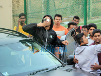 Ranbir Kapoor and Ranveer Singh snapped at a soccer match