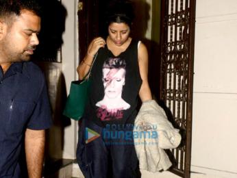 Ranveer Singh and Zoya Akhtar snapped at Shankar Mahadevan's studio