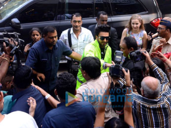Ranveer Singh graces the launch of Adidas store launch