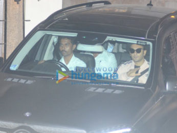 Ranveer Singh spotted at Zoya Akhtar's residence