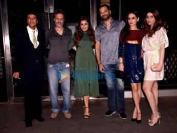 Raveena Tandon snapped with friends at Masala Bar
