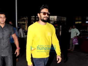 Riteish Deshmukh snapped at the airport