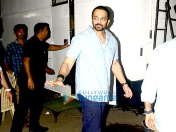 Rohit Shetty snapped meeting Ranveer Singh
