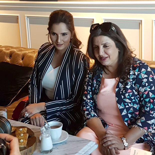 SPOTTED BFFs Farah Khan and Sania Mirza at The Label Bazaar exhibition in Dubai