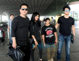 Sajid Nadiadwala, Shriya Sharan snapped at the airport
