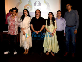 Screening of 'Beyond The Clouds' at IFFI 2017, Goa