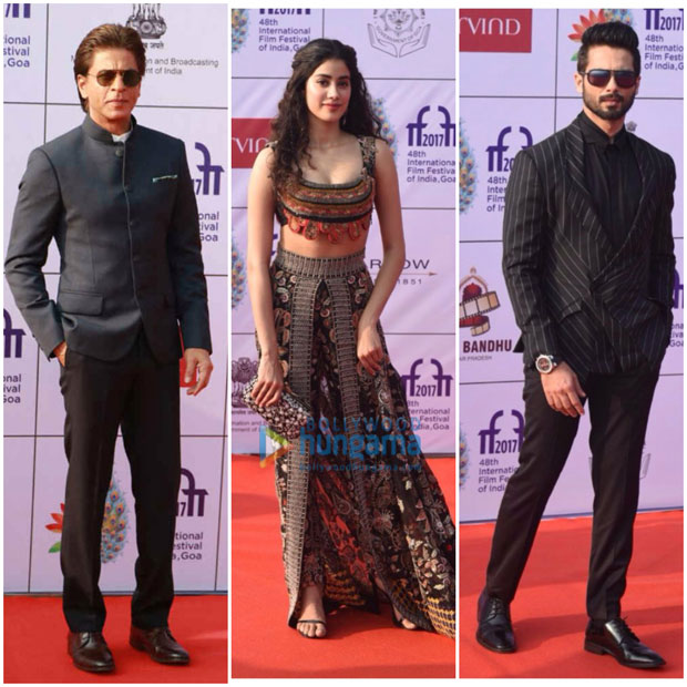 Shah Rukh Khan, Shahid Kapoor, Janhvi Kapoor, Ishaan Khatter and others kick off the opening ceremony-1