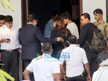 Shah Rukh Khan snapped in the new look