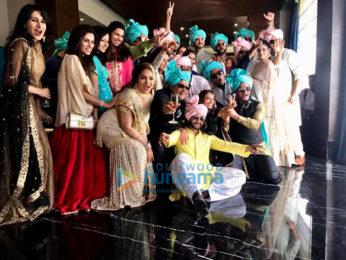 Shahid Kapoor, Mira Rajput and Sussanne Khan snapped at Gautam Gupta's wedding reception