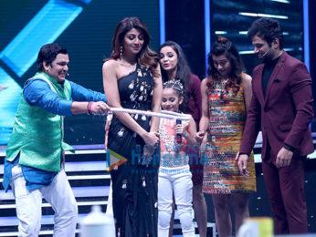Shilpa Shetty Kundra snapped on sets of Super Dancer Chapter 2
