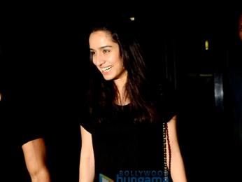 Shraddha Kapoor snapped at BKC