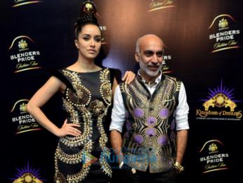 Shraddha Kapoor walks the ramp for Manish Arora at Blender's Pride Fashion Tour, New Delhi