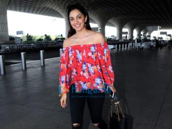 Sidharth Malhotra, Kiara Advani and Anil Kapoor snapped at the airport