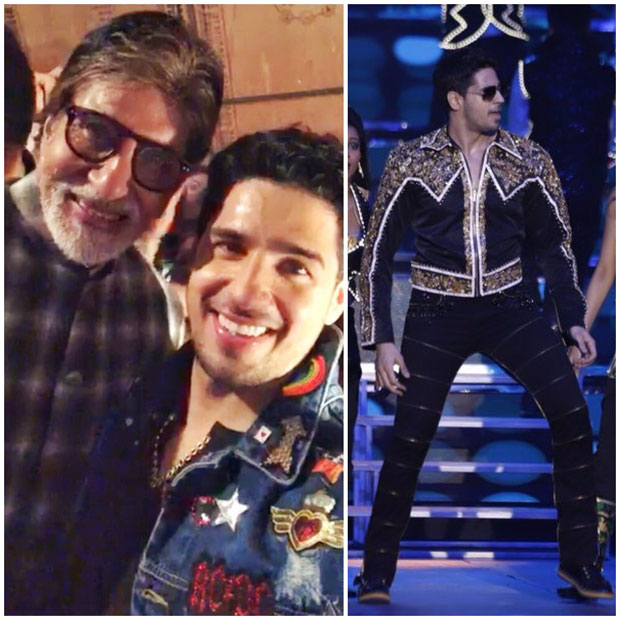 Sidharth Malhotra pays tribute to Amitabh Bachchan dancing to medley of his hit tracks feature