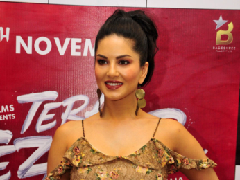 Sunny Leone and Arbaaz Khan promote 'Tera Intezaar' in Delhi